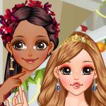 Christmas Princesses Makeover